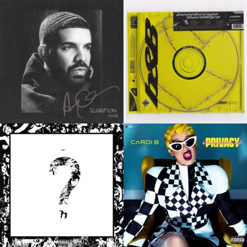 170c13cdf5df ALBUM SALES (week 27, 2018): Drake, Post Malone, XXXTentacion, Cardi B &  more!