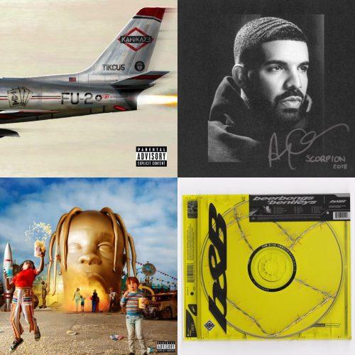 ALBUM SALES (week 36, 2018): Eminem, Drake, Travis Scott, Post