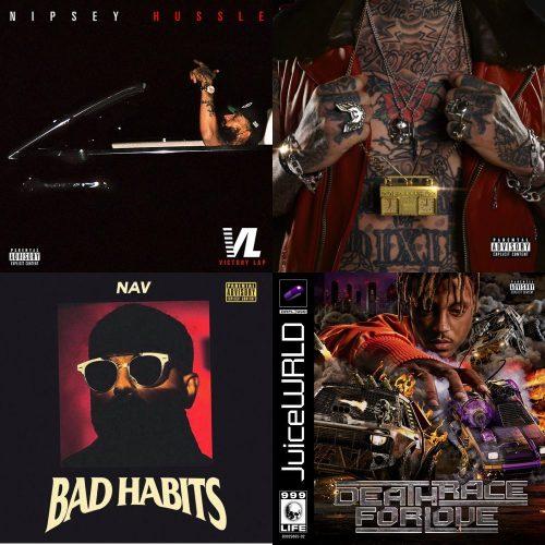 ALBUM SALES (week 14, 2019): Nipsey Hussle, Yelawolf, Juice