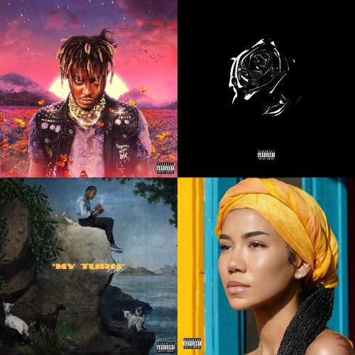 Juice WRLD Legends Never Die Pop Smoke Shoot For The Stars Aim For The Moon Lil Baby My Turn Jhene Aiko Chilombo album sales week 30 2020