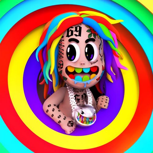 6ix9ine TattleTales artwork