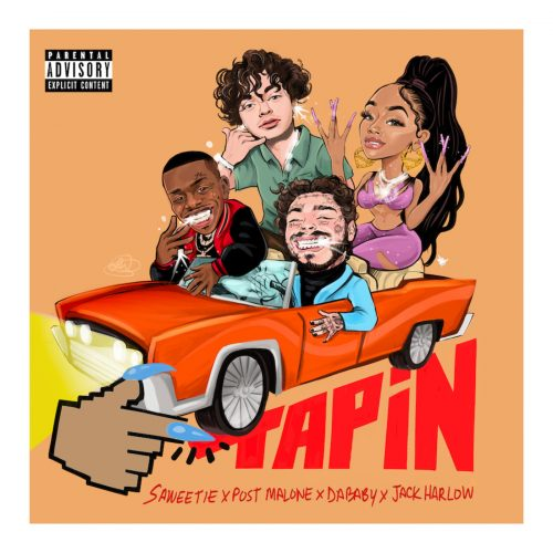 Saweetie Post Malone DaBaby Jack Harlow Tap In Remix
