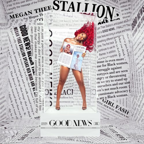 Megan Thee Stallion Good News album cover