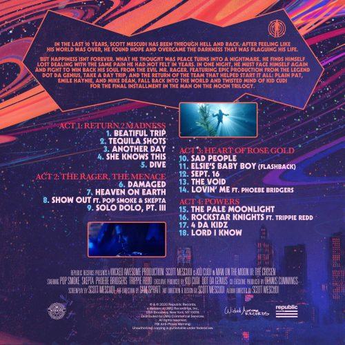 Kid Cudi Man On The Moon III tracklist