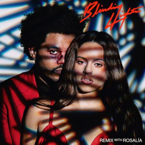 The Weeknd Rosalia Blinding Lights remix