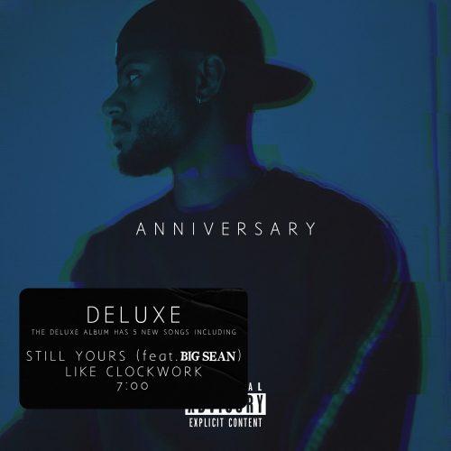 Bryson Tiller Anniversary deluxe album stream