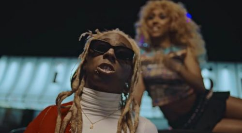 Fousheé Lil Wayne gold fronts video