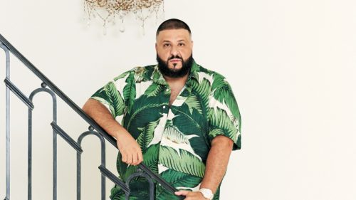 DJ Khaled at home in Beverly Hills, Calif.