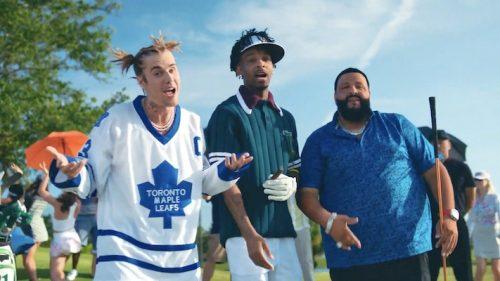 DJ Khaled Justin Bieber 21 Savage Let It Go video