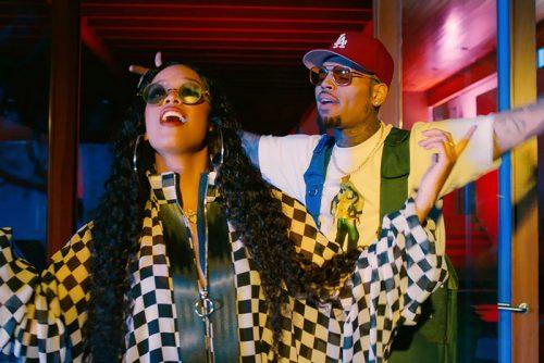 H.E.R. Chris Brown Come Through video