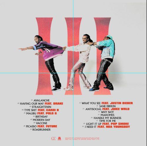 Migos Culture 3 tracklist