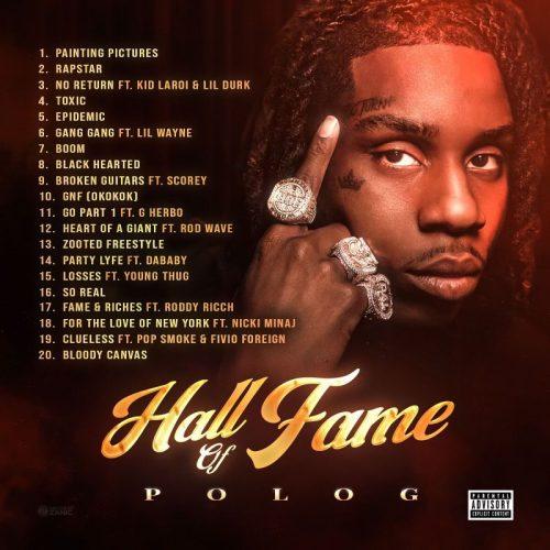 Polo G Hall Of Fame Tracklist