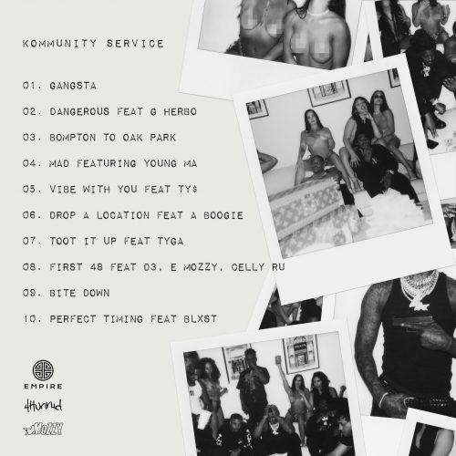 YG Mozzy Kommunity Service tracklist