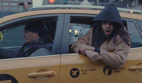 J. Cole Punchin The Clock video