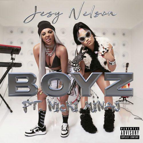 Jesy Nelson Nicki Minaj Boyz video