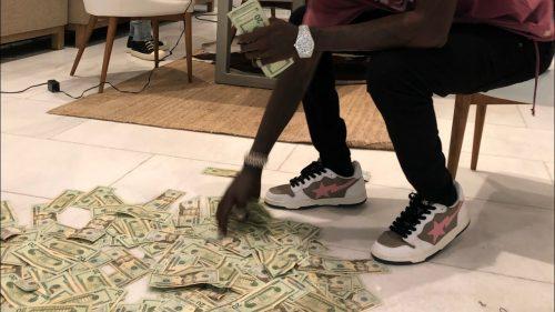 K Camp Blow Da Budget freestyle video